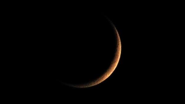 Księżyc w nowiu - fotografia marzec 2014