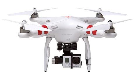 drony z kamerą