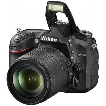 lustrzanka Nikon D7200 kolor czarny