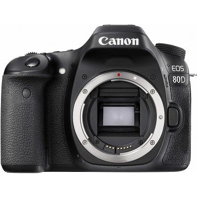 lustrzanka cyfrowa Canon EOS 80D kolor czarny