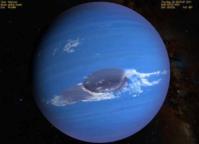 Planeta Neptun - zdjęcie: djkupras.blogspot.com