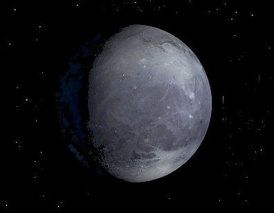 Pluton - status: planeta karłowata od 2006 roku.