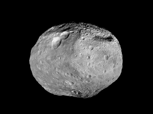 Fotografia - asteroida Westa, zdjęcie: nasa.gov