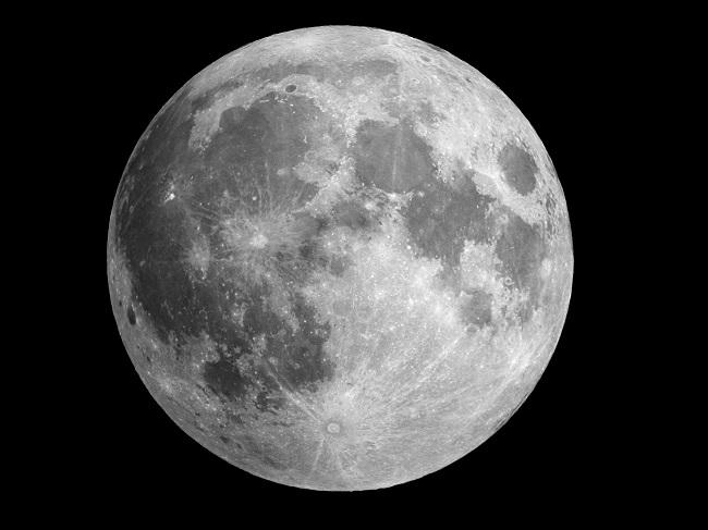 Księżyc w pełni - fotografia styczeń 2009