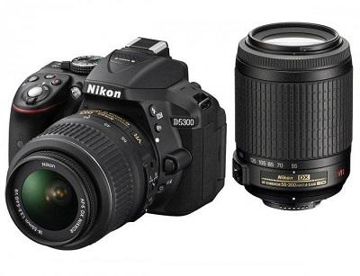 lustrzanka Nikon D5300 kolor czarny