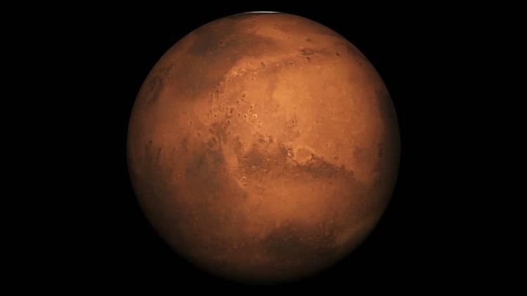 Mars - Czerwona Planeta. Jest 4. w kolejności planetą w Układzie Słonecznym oddaloną od Słońca.