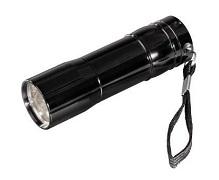 czarna latarka Hama Basic FL-92