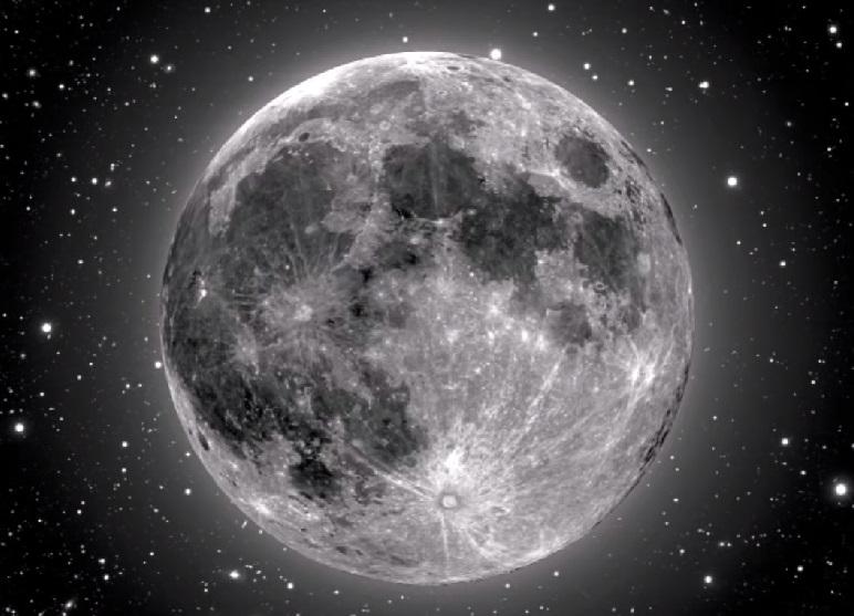 Księżyc, naturalny satelita Ziemi