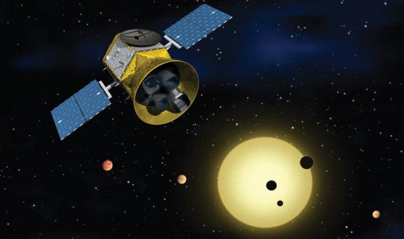 Kosmiczny Teleskop TESS. Fotografia: arstechnica.net.