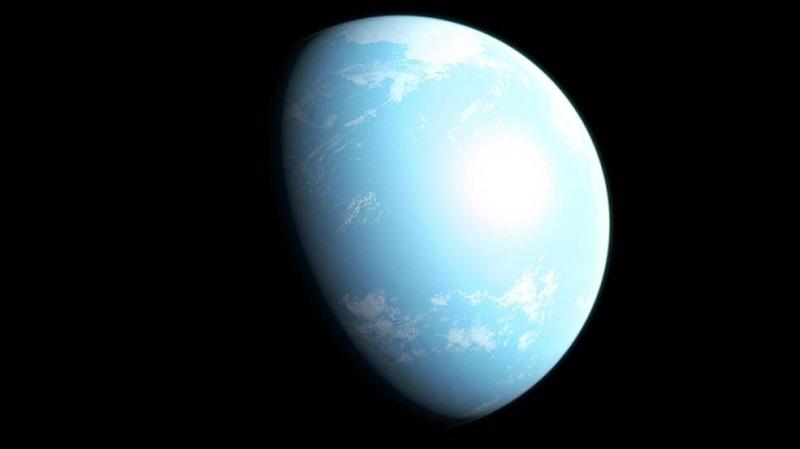 planeta GJ 357 d, określana mianem Superziemi, znajdująca sie w odległości 31 lat świetlnych od Zielonej Planety, odkryta przez Kosmiczny Teleskop TESS