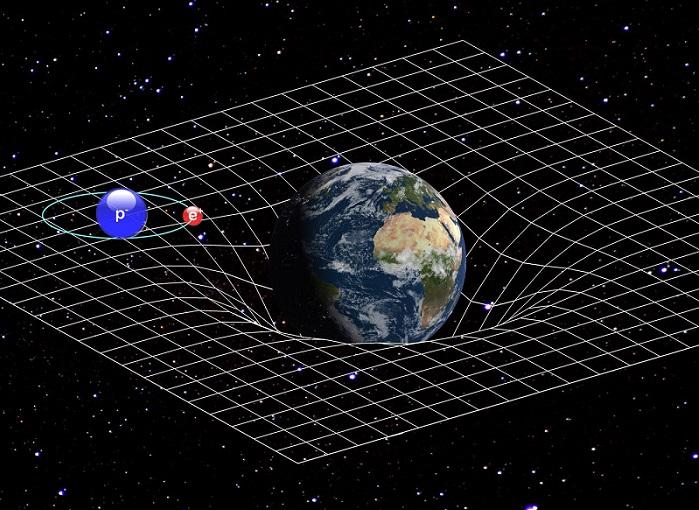 Grawitacja jest kluczową siłą oddziaływania między obiektami znajdującymi się w kosmosie. Fotografia: grawitacja ziemska - inverse.com.