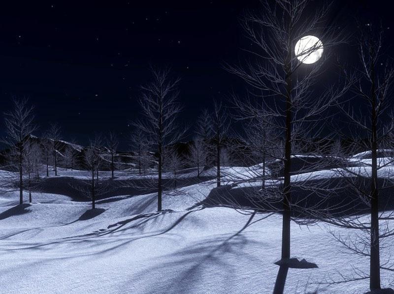 Przesilenie zimowe wyznacza początek astronomicznej zimy oraz najkrótszy dzień w roku naj i datowane jest na 20 lub 21 grudnia. Fotografia: beliefnet.com.