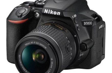 Lustrzanka Nikon D5600 – podstawowe dane i opis cyfrówki