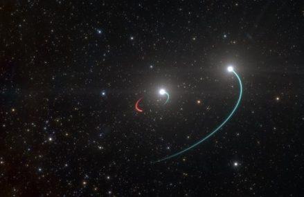 Znaleziono czarną dziurę oddaloną jedynie o 1000 lat świetlnych od Ziemi