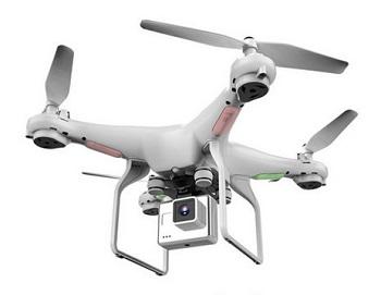 dron z aparatem fotograficznym