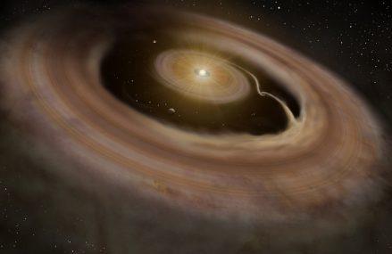 """Układ PDS 70 z planetami tworzącymi się """"w czasie rzeczywistym"""""""