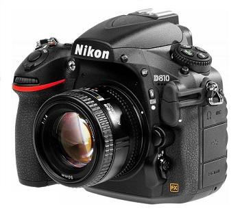 lustrzanka Nikon D810A z filtrem podczerwieni