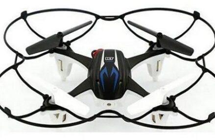 Zabawkowy dron Dron Xblitz Raider Thunder w cenie poniżej 70 zł. Dobry na prezent dla początkującego dziecka