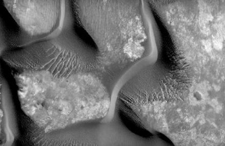 Poruszające się pręgi faliste na Czerwonej Planecie i początek misji Mars 2020
