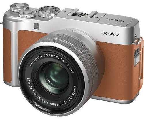 bezlusterkowiec Fujifilm X-A7 24.2 MP APS-C CMOS ISO 200-12800