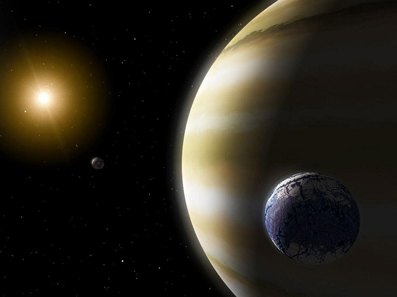 życie pozaziemskie w Układzie Słonecznym - Mars, Ganimedes, Kallisto i Tryton