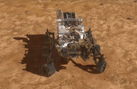 Marsjański łazik Perseverance osiągnął powierzchnię Czerwonej Planety