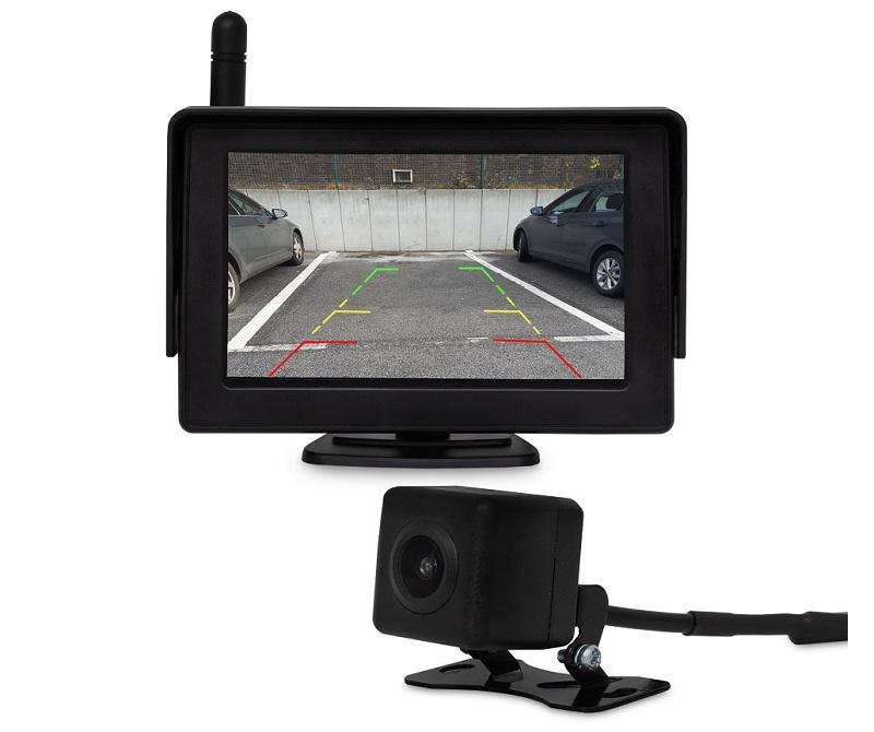 kamera samochodowa z bezprzewodową kamerą cofania wifi