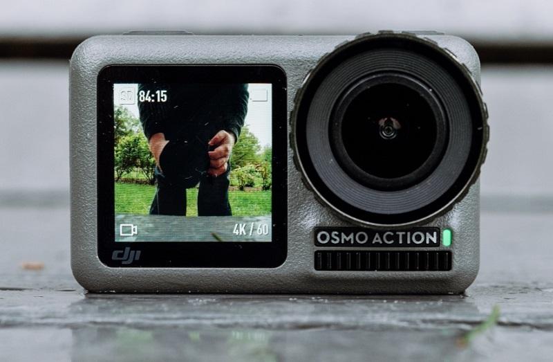 kamera sportowa DJI Osmo Action 4K z wyświetlaczem LCD