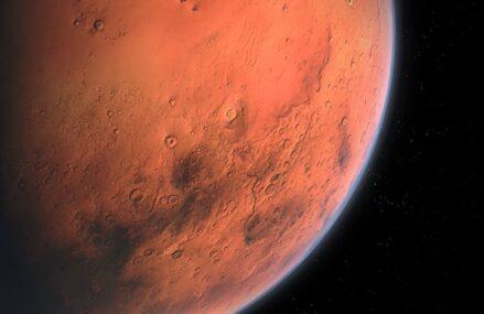 Niezwykłe fotografie powierzchni Marsa dzięki znajdującej się na orbicie sondzie Al Amal