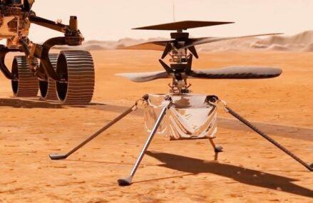 Kłopoty drona Mars Ingenuity i przełożona data startu helikoptera