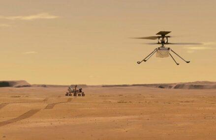 Udane serie lotów Mars Ingenuity zaowocowały filmem na podstawie zebranych przez niego materiałów