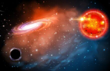 """Gwiazda V723 Mon tworzy układ podwójny z """"miniaturową"""" czarną dziurą"""