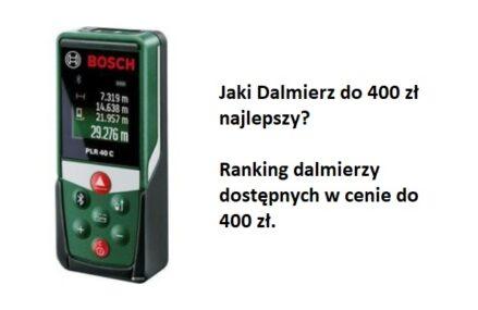 Ranking TOP7 Dalmierzy do 400 zł. Jaki dalmierz w cenie do 400 zł najlepszy?